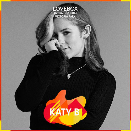 Lovebox 2016: Katy B added to line-up