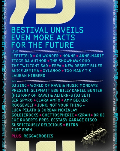 Bestival 2016 Lineup update May 2016