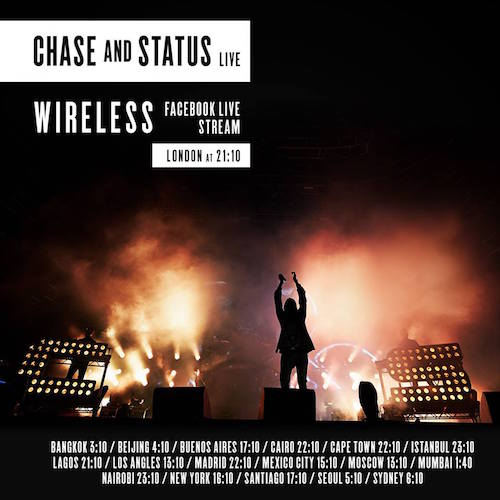 Live stream: Chase and Status - Live from Wireless Festival 2016