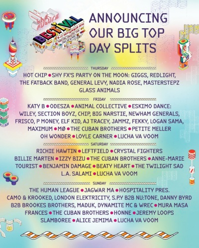 Bestival Big Top 2016