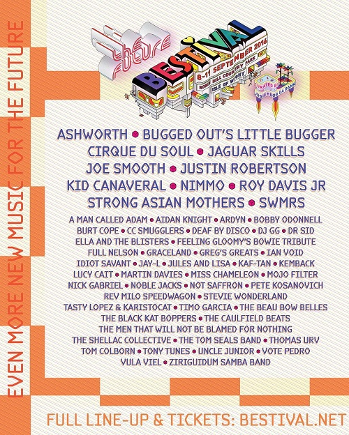 Bestival Even More New Acts Aug 2016