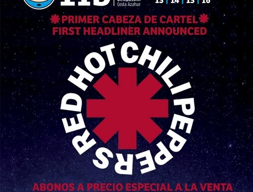 Benicassim 2017: Red Hot Chili Peppers confirmed as first headliner