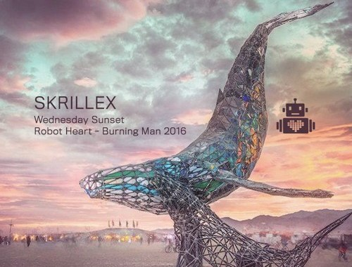 Listen to Skrillex's full set from Burning Man 2016's Robot Heart