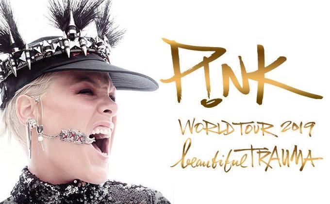 Pink announces 2019 'Beautiful Trauma' UK tour dates