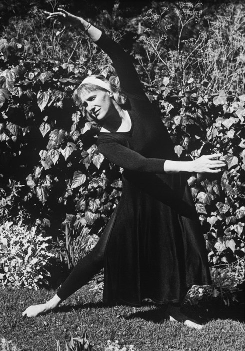 Dance Pose Edna Bullock,1961, Wynn © Bullock Family Photography LLC