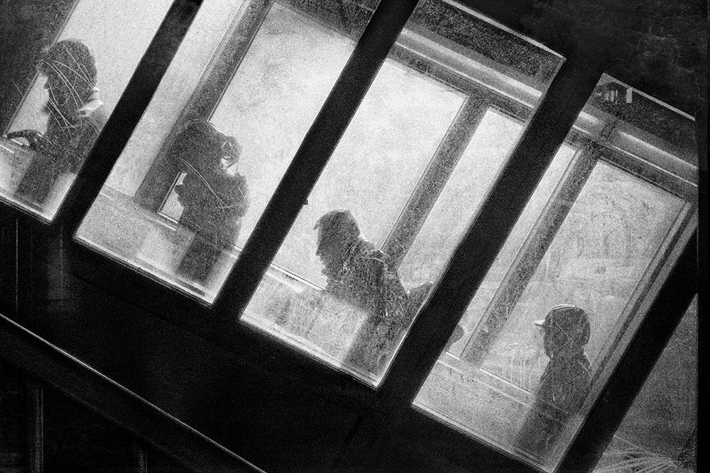Escalator One © Mitchell Hartman