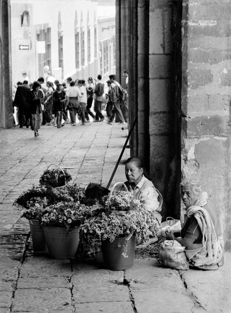 Flower Sellers © Norm Snyder