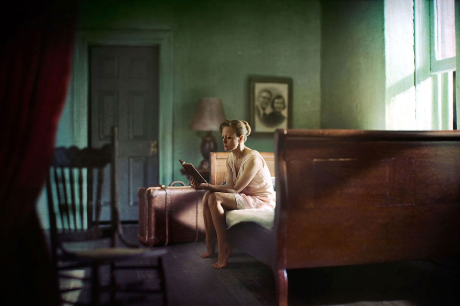 Woman Reading © Richard Tuschman