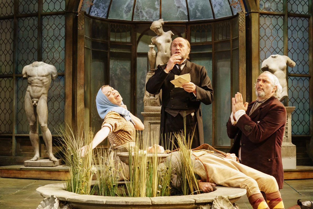 TWELFTH NIGHT at the Royal Shakespeare Theatre, Stratford