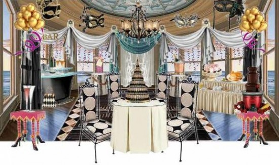 Venetian Themed Party Decorations In London Es And Uk