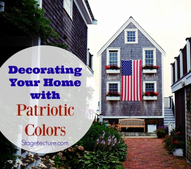 Outdoor Patriotic Holiday Decorating Ideas Hang The American Flag