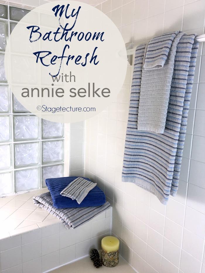 annie selke bath towels