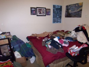 BEFORE: Teenage Son's Room