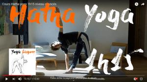 cours yoga en ligne avancé 1h15