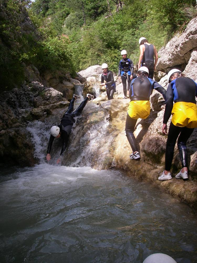 canyoning stage yoga