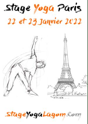 Stage yoga paris janvier 2022