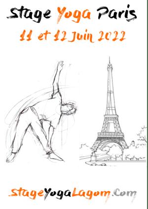 Stage yoga paris juin 2022