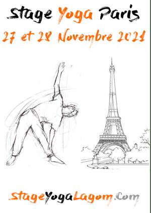 Stage yoga paris novembre 2021