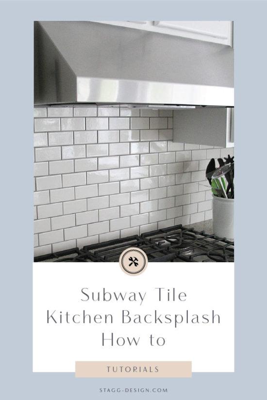 subway tile kitchen backsplash how to