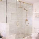 Master Bathroom Marble Tile Stagg Design