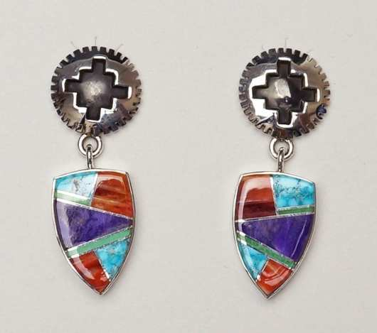 Earl Plummer Rug Design Earrings