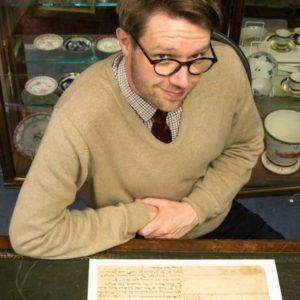 Jim Spencer of Hansons book department