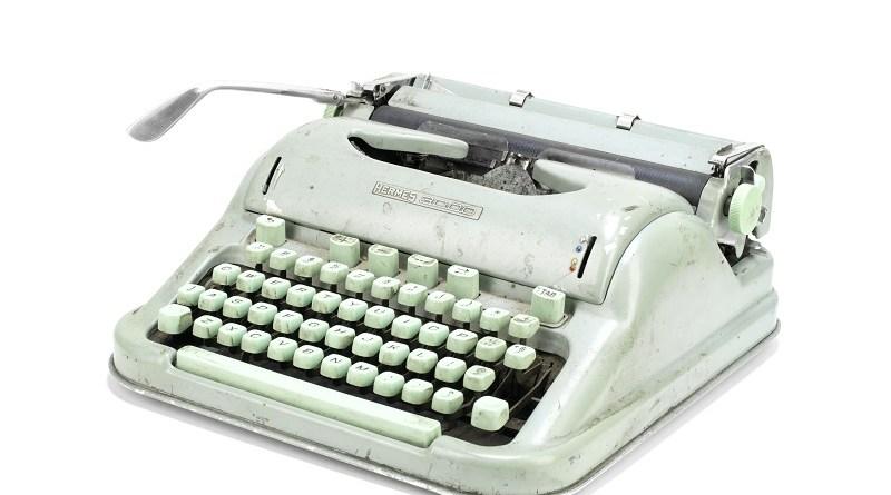 Sylvia Plath's Hermes 3000 Typewriter