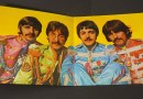 The Beatles' Sgt Pepper's Lonely Hearts Club Band gatefold LP cover
