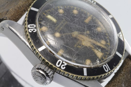 The Rolex Submariner watch in Lockdales auction