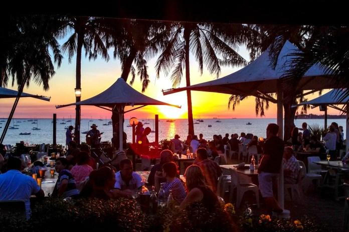 Sunset at the Darwin Sailing Club
