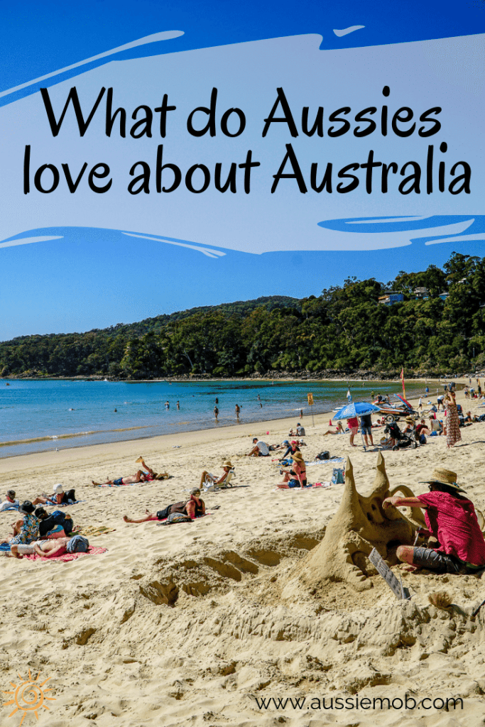 What do Aussies love about Australia