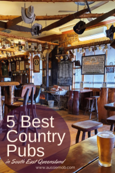 Best 5 Country Pubs in South East Queensland