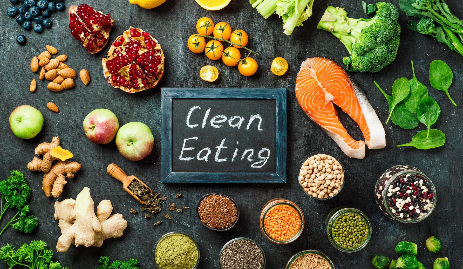 eat clean food