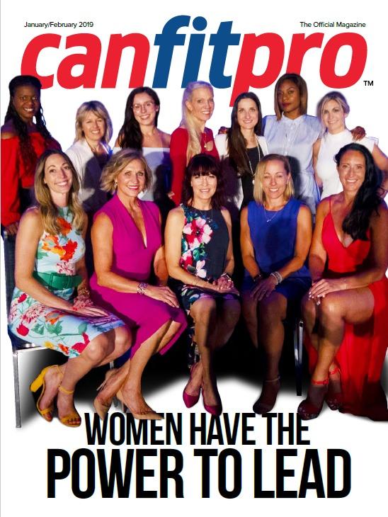 canfitpro Magazine | Jan/Feb 2019 cover