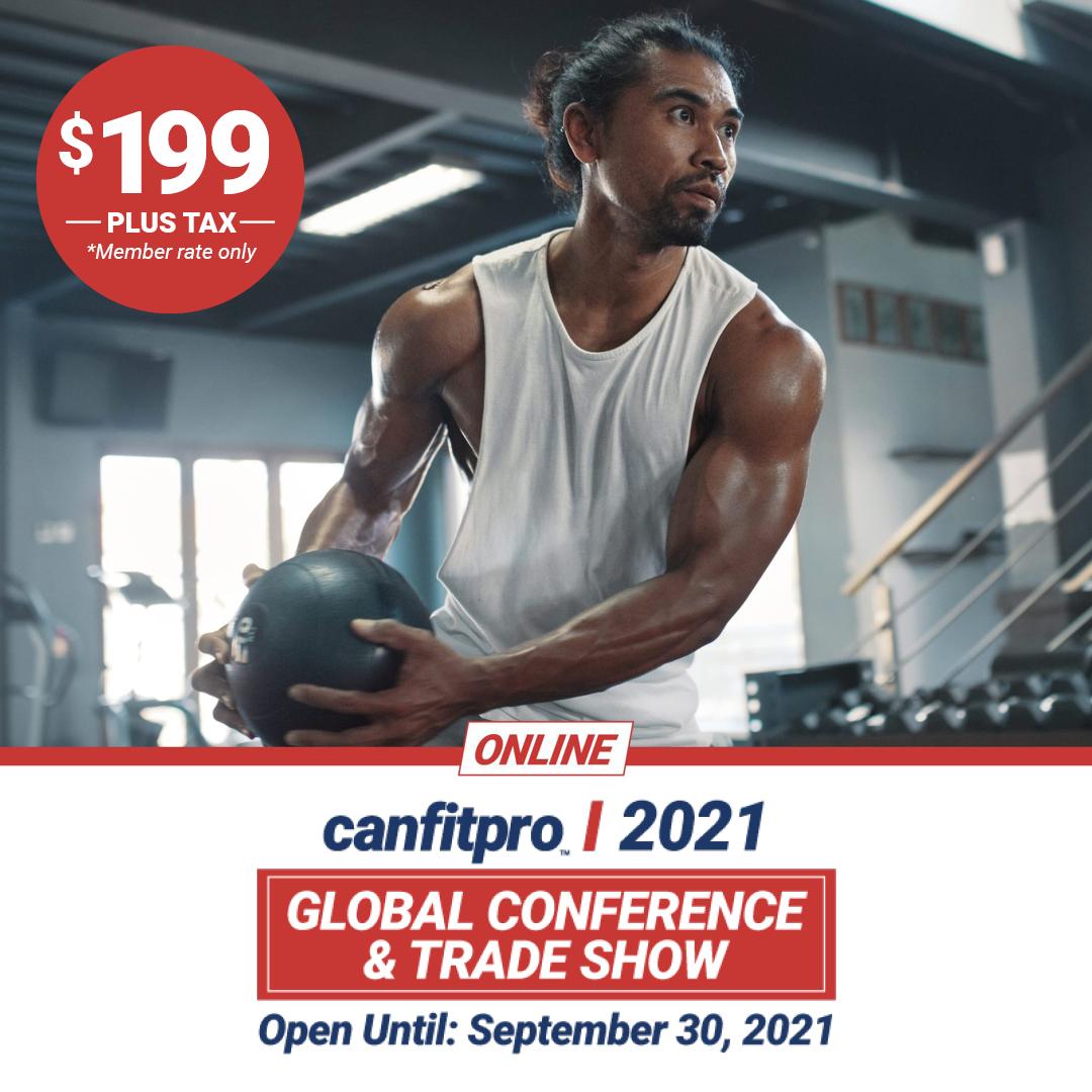 canfitpro 2021 Online: Trade show open until September 30, 2021