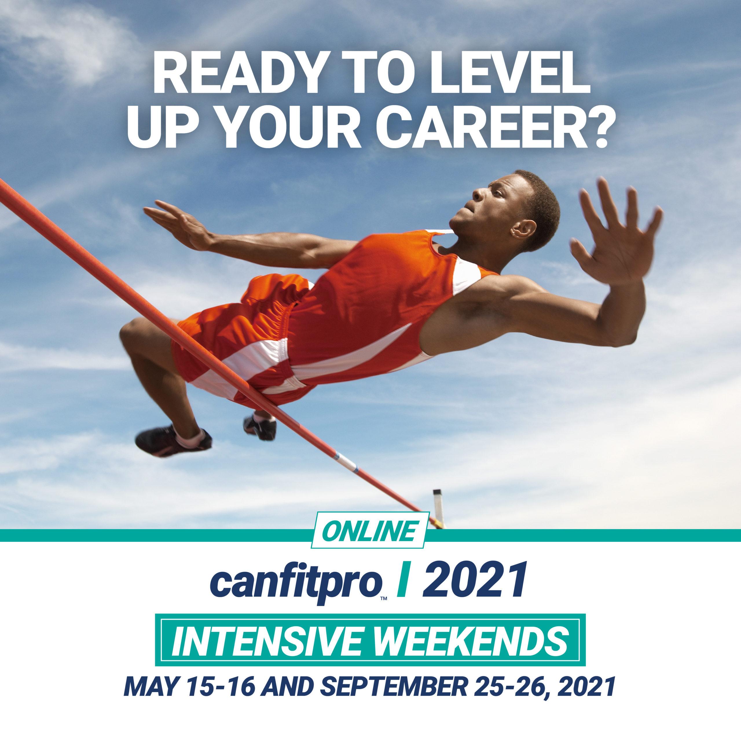 canfitpro 2021 intensive weekends