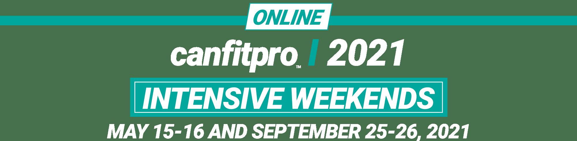 canfitpro intensive weekend logo
