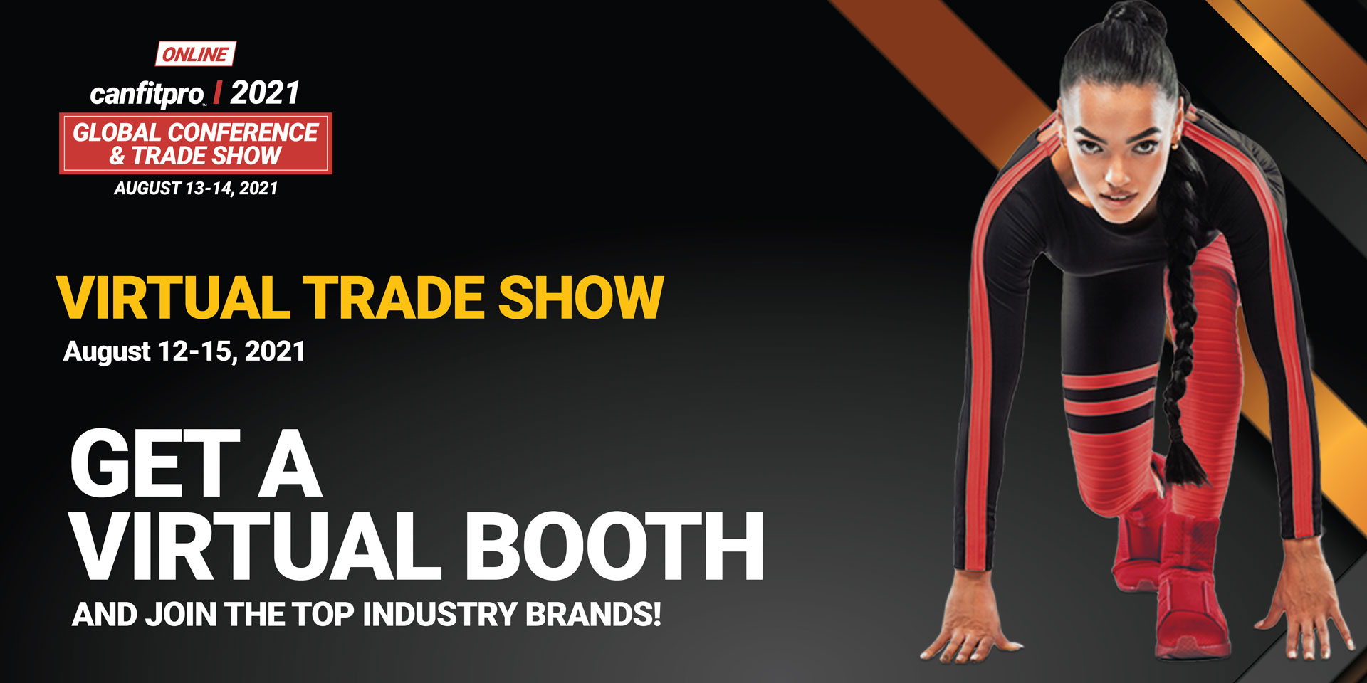 August Trade show banner