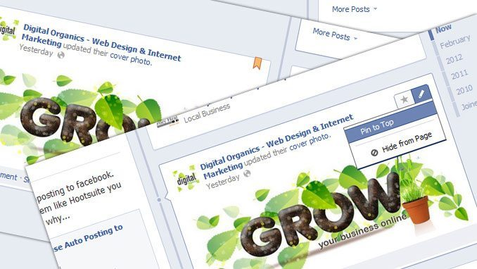 How to Pin a Facebook Post