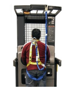SHLC4051Q-C Safety Harness and Lanyard Combo