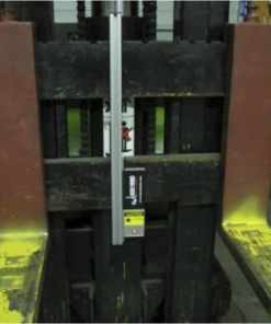 Laser Guide Forklift Guidance System Class 3 Carriage Fork View