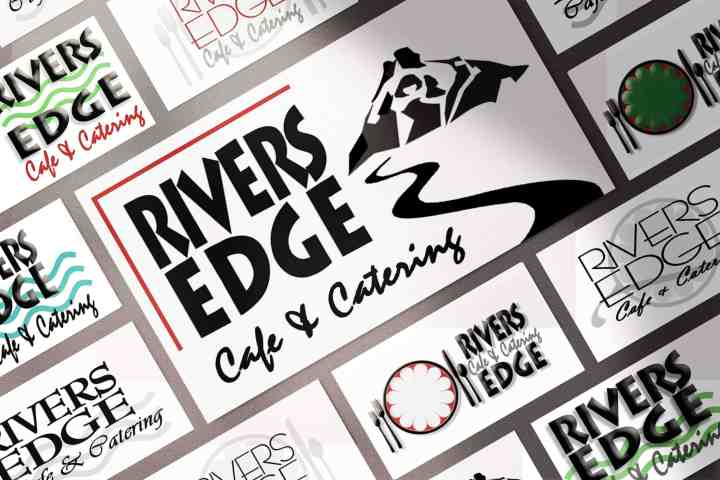 Rivers Edge Logo Process
