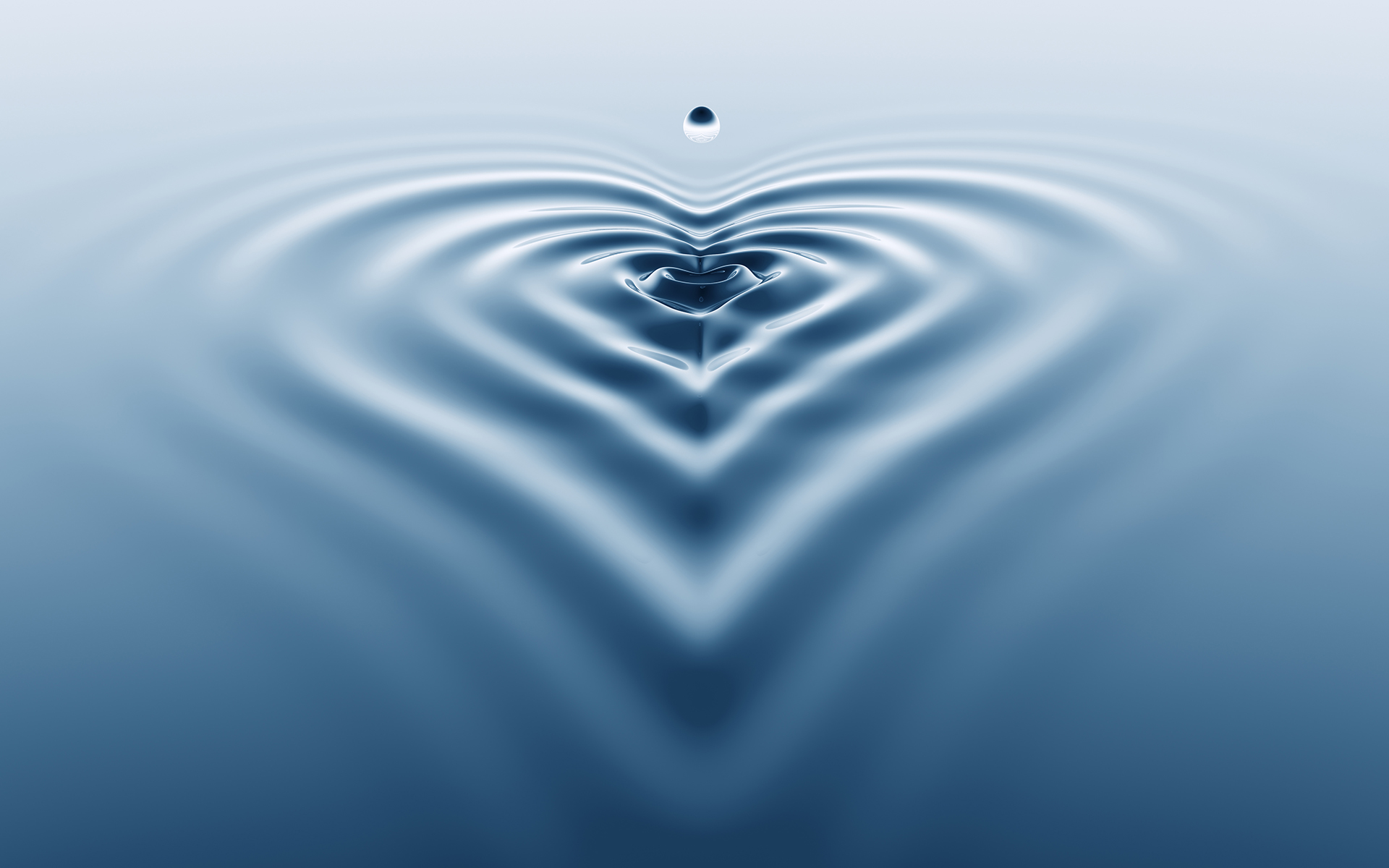 Sharon Salzberg Reveals Why Our Interconnectedness Is Our Greatest Strength - Water splash with ripple shaped as a heart