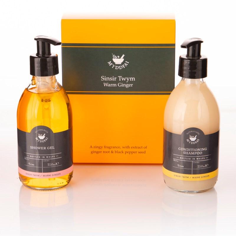 sinsir twym Shower Gel and Shampoo