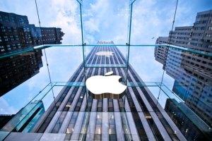 A photograph showing Apple Inc. shop front.