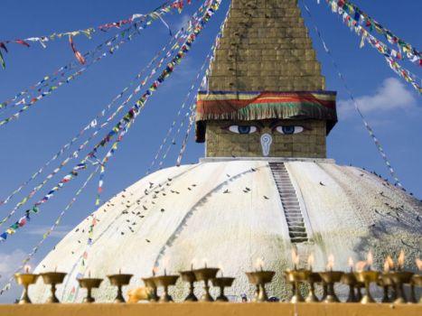 Buddha Nath Stupa of Kathmandu