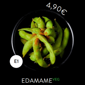 E1 - Side Edamame