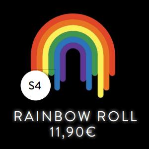 S4 - Roll - Rainbow