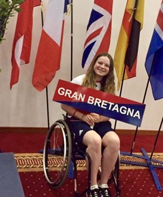 Grace Chappell representing the GB Para Squad!