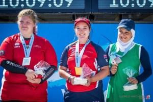 Lucy Mason World Champion!